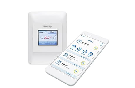 color touch wifi thermostat - warmup nz