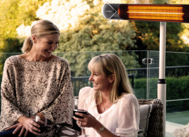 The Moderno Infrared heater by Tranquillity is the only radiant heater I'll ever need!