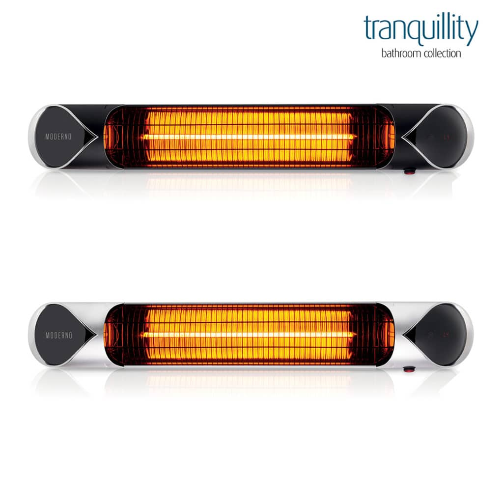 Moderno carbon infrared heater by Tranquillity