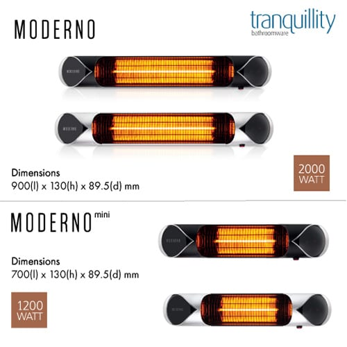moderno infrared carbon heater