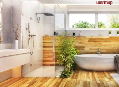 The trendy design features in bathrooms