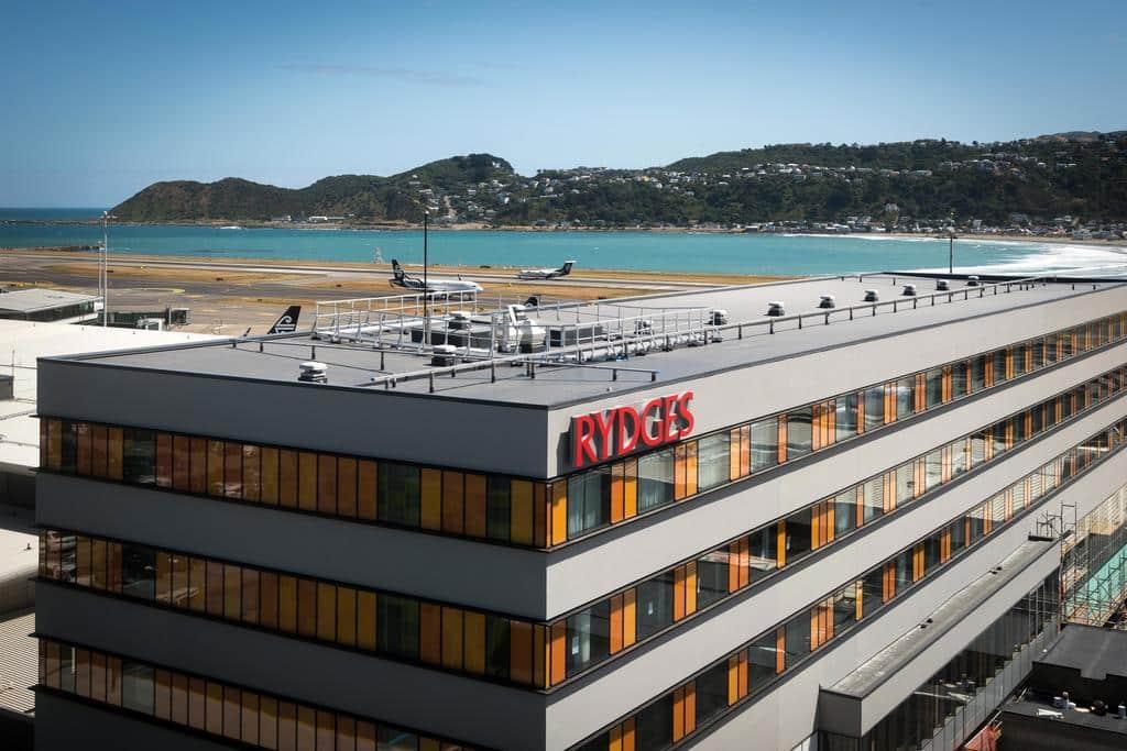 Rydges Wellington Airport Hotel.