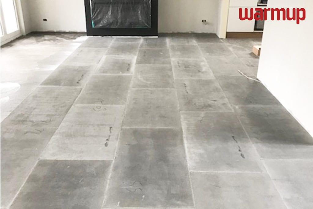 Marmox insulation boards under laminate heating - Warmup