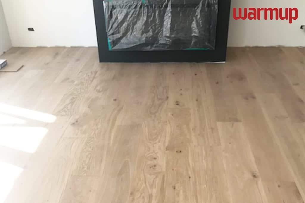 under laminate heating Warmup