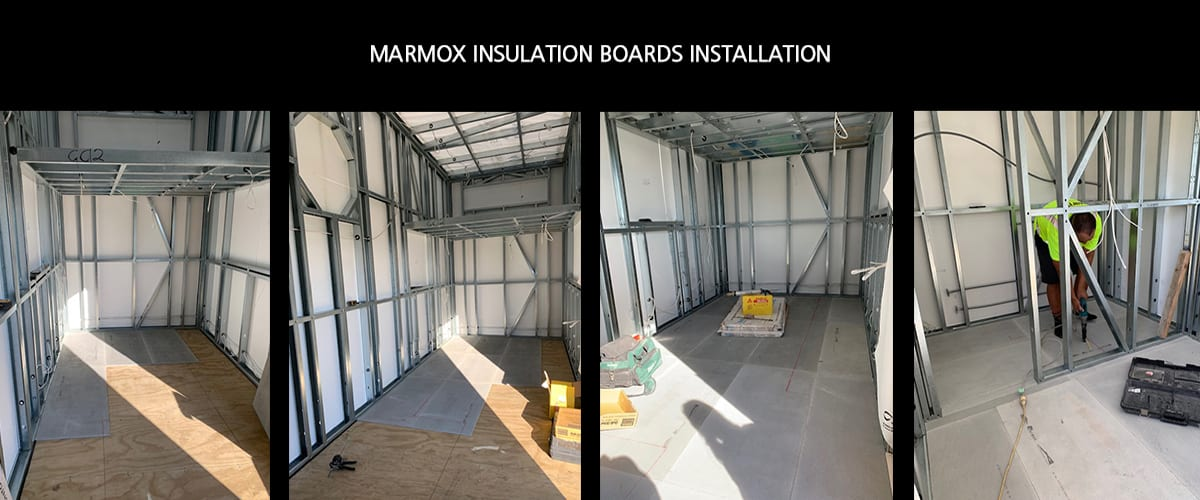 marmox insulation board installation - warmup nz