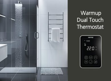 Warmup Dual-Touch Thermostat: Temperature Control Made Easy