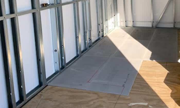 Marmox insulation boards installation