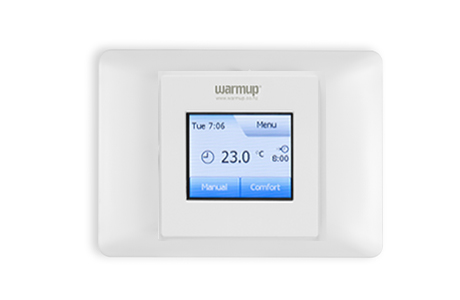 colour touch thermostat warmup